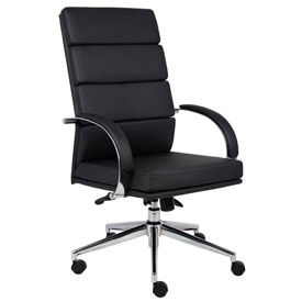 CaressoftPlus™ High Back Executive Chair, Black