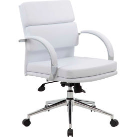 CaressoftPlus™ Executive Chair, White