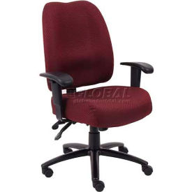 Dido Multi-Function Task Chair, Burgundy by