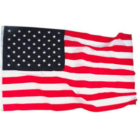 4' x 6' Bulldog® Cotton US Flag with Sewn Stripes & Embroidered Stars