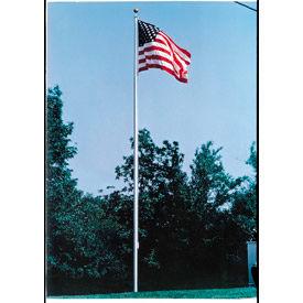 25' Large Outdoor Aluminum Flagpole