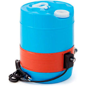Briskheat Silicone Rubber 5 Gallon Plastic Pail Heater 120V by