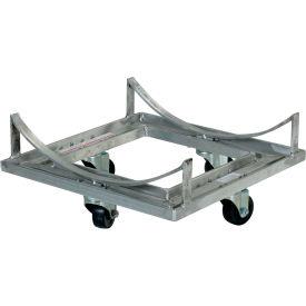 Vestil Portable Aluminum Cradle Cart DCC-17 600 Lb. Capacity