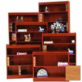 "Excalibur Bookcase 60"" H, Natural Oak"