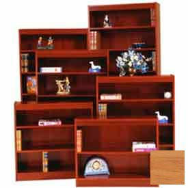 "Excalibur Bookcase 84"" H, Natural Oak"