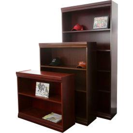 "Jefferson Traditional Bookcase 30"" H, Mahogany"