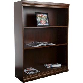 "Jefferson Traditional Bookcase 48"" H, Walnut"