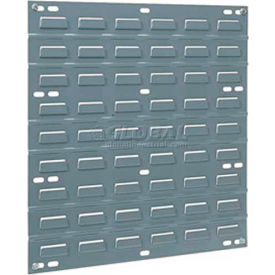 Akro-Mils Steel Louvered Panel 30618GREY - 18 X 19 Grey - Pkg Qty 4