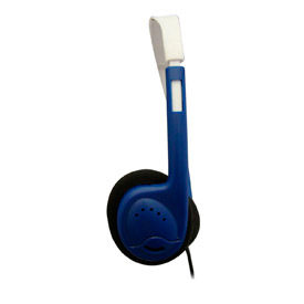 Automatic Sound Limiting Headphones, Blue