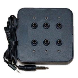 Six Position Stereo Jack Box