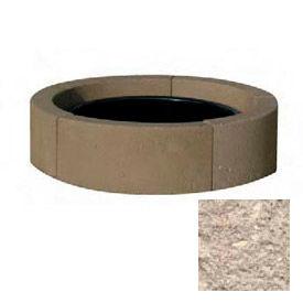 "44"" Dia. Concrete Fire Ring, Weather Stone Buff"