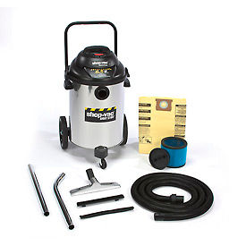 Shop-Vac® 15 Gallon Stainless Steel 6.5 Peak HP Wet Dry Vacuum - 9626610