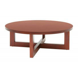 "Regency Coffee Table - 37"" Round - Cherry - Chloe Series"