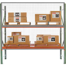 8' x 3' Wire Mesh Pallet Rack Guard