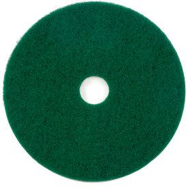 """17"""" Green Scrubbing Pad - 5 Per Case"""