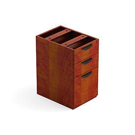Offices To Go™ 3 Drawer Pedestal in Dark Cherry - Executive Modular Furniture