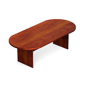 """Offices To Go™ Conference Table - Racetrack - 95"""" - Dark Cherry"""
