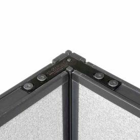 "90 Degree Corner Connector Kit For 46"" H Panel"