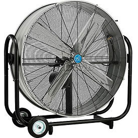 42 Inch Portable Tilt Drum Blower Fan - Belt Drive