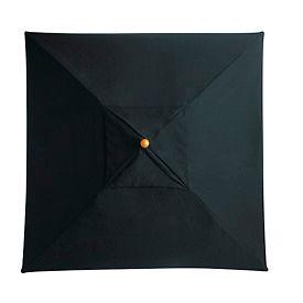 Grosfillex® 6-1/2' Wooden Market Outdoor Umbrella, Black