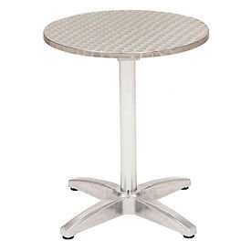 """KFI Outdoor 32"""" Round Stainless Steel Table"""