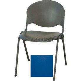 KFI Plastic Stack Chair - Navy