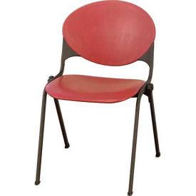 Designer Stack Chair Burgundy