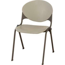 KFI Plastic Stack Chair - Gray
