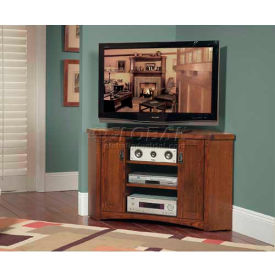 Mission Pasadena Home Entertainment Collection - Corner TV Console
