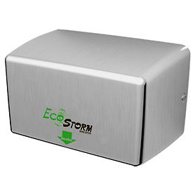 EcoStorm Hands Free High-Speed Hand Dryer -Stainless Steel