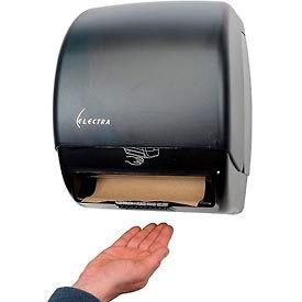 Adjustable Touchless Towel Dispenser - Black - TD024502