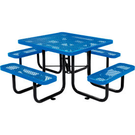 Benches Picnic Tables Picnic Tables Steel 46 Quot Square