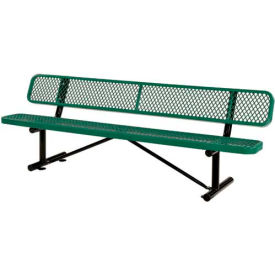 Benches Amp Picnic Tables Benches Steel 8 Ft Outdoor