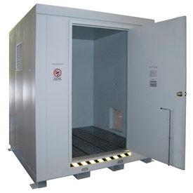 Optional 4 Hour Fire Rating Upgrade for 603153 Outdoor Hazardous Storage Building-4 Drum