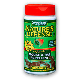 Bird-X Nature's Defense Organic Rodent Deterrent, 22 oz. Container - ND-MR