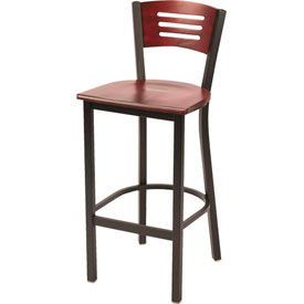 Pleasing Stools Steel Wood Kfi Metal Cafe Barstool With Wood Forskolin Free Trial Chair Design Images Forskolin Free Trialorg