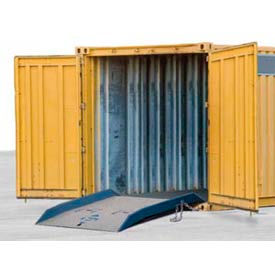 Bluff® 15CR7248 Forklift Container Ramp 72 x 48 15,000 Lb. Cap.