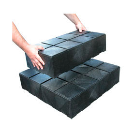 """Structural Plastic Dunnage Cube 24""""W x 12""""D x 6""""H"""