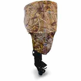 Classic Accessories® Boat Motor Cover, Up To 15 H.P Camo - 83524