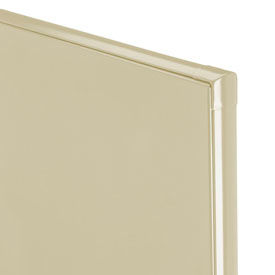 """Polymer Partition Panel - 54-3/4"""" W x 55"""" H Cream"""