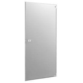 "Polymer ADA Inward Swing Partition Door - 35-3/5"" W x 55"" H Gray"