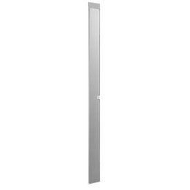 """Polymer Pilaster w/ Shoe - 7"""" W x 82"""" H Gray"""