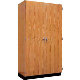 "Diversified Woodcrafts Wood Storage Cabinet 353-3622 - 36""W x 22""D x 84""H"