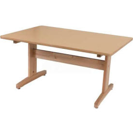 """Art and Projects Table, 30"""" x 60"""" Laminated Top"""