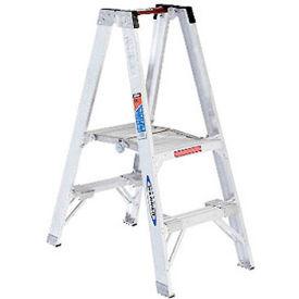 Werner 2' Type 1A Aluminum Dual Access Platform Ladder - PT372