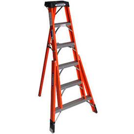 Werner 6' Fiberglass Tripod Step Ladder - FTP6206