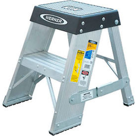 Werner 2' Aluminum Step Stand - SSA02