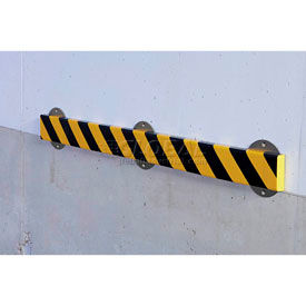 """Surface Bumper Guard with Steel Support, Type S1, 39-3/8""""L x 2-7/8"""" x 13/16"""""""