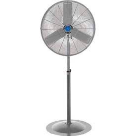 """CD 25"""" Non-Oscillating Pedestal Fan 1/4HP 5,400 CFM"""