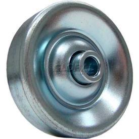 "Omni Metalcraft 1-15/16"" Dia. Zinc Plated Steel Conveyor Skate Wheel 102143 50 Lb. Cap."
